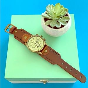 Accessories - NWOT Leather watch